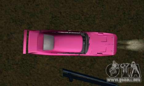 Dodge Charger Daytona SRT10 para la vista superior GTA San Andreas