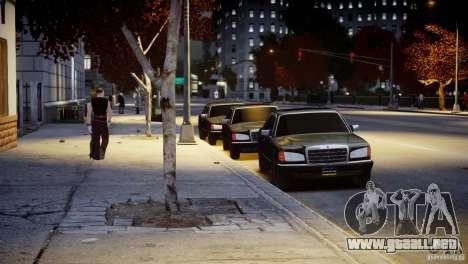 Mercedes-Benz 560 SEL Black Edition para GTA 4 vista lateral
