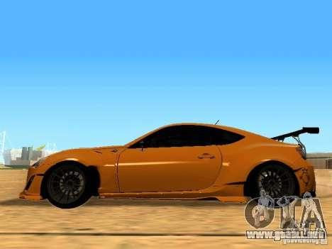 Toyota FT86 Rocket Bunny V2 para GTA San Andreas left