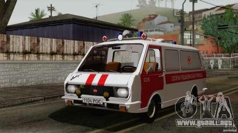 Ambulancia RAF 22031 Latvija para GTA San Andreas