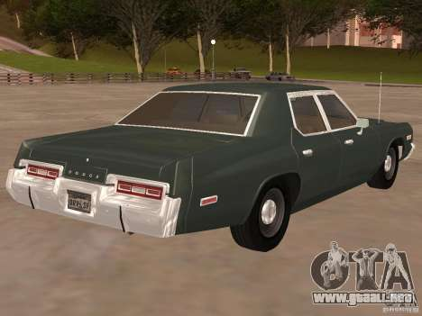 Dodge Monaco 1974 para GTA San Andreas left