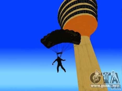 Global Parachute Mod para GTA San Andreas quinta pantalla