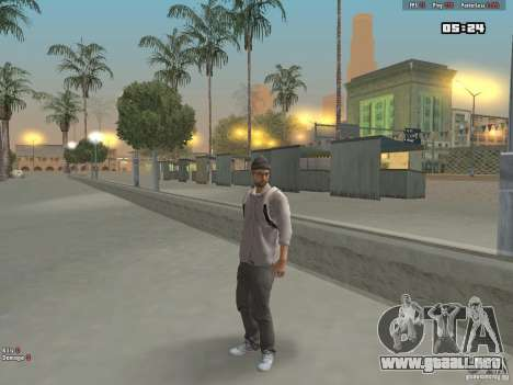 Skin Hipster v1.0 para GTA San Andreas tercera pantalla