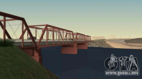 El nuevo puente de LS-LV para GTA San Andreas