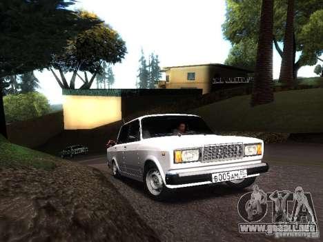 VAZ 2107 DAG para GTA San Andreas left
