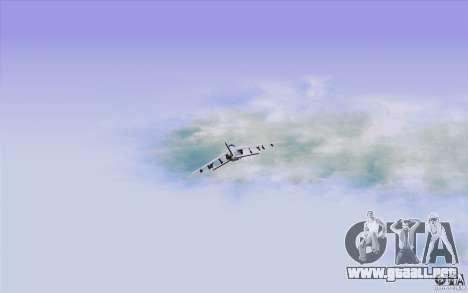 Sky Box V2.0 para GTA San Andreas quinta pantalla