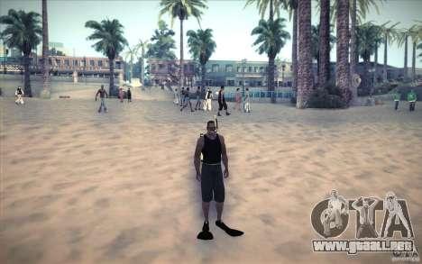 Tanque de buceo para GTA San Andreas tercera pantalla
