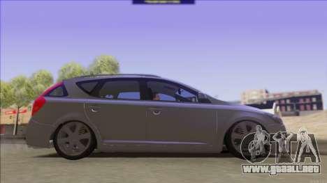 Kia Ceed SW para la visión correcta GTA San Andreas