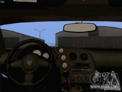 Dodge Viper GTS-R Concept para la vista superior GTA San Andreas