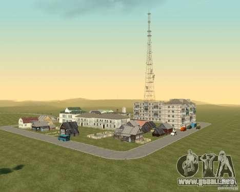 Nuevo campo del distrito de sueños para GTA San Andreas