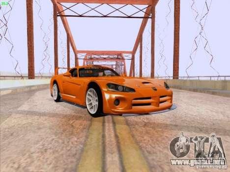 Dodge Viper GTS-R Concept para GTA San Andreas left