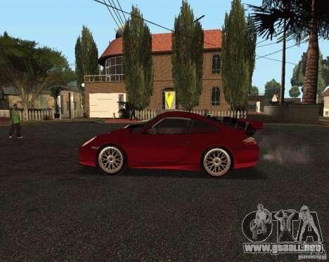 Porsche 911 GT3 RS para vista inferior GTA San Andreas