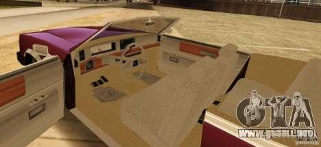 Feltzer HD v2 para GTA San Andreas vista posterior izquierda