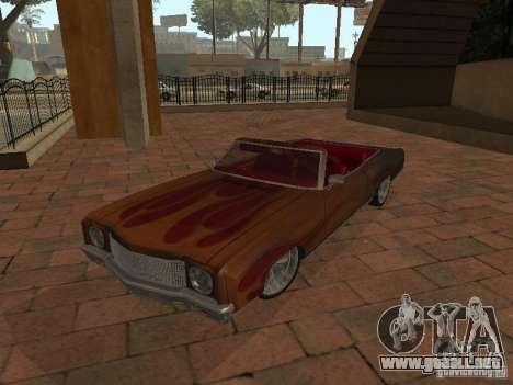 1970 Chevrolet Monte Carlo para la visión correcta GTA San Andreas