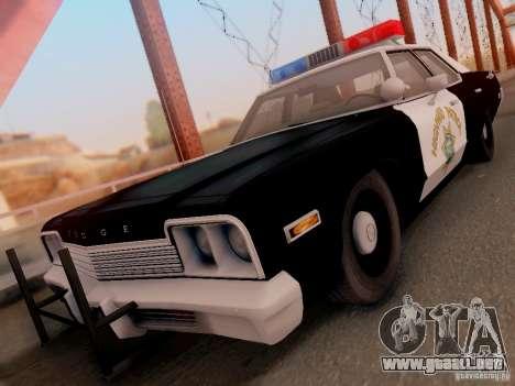 Dodge Monaco 1974 California Highway Patrol para GTA San Andreas