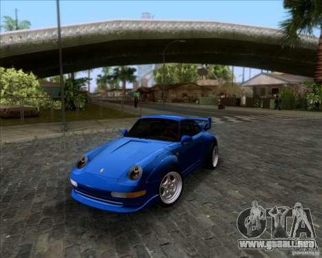 Porsche 911 GT2 RWB Dubai SIG EDTN 1995 para la vista superior GTA San Andreas