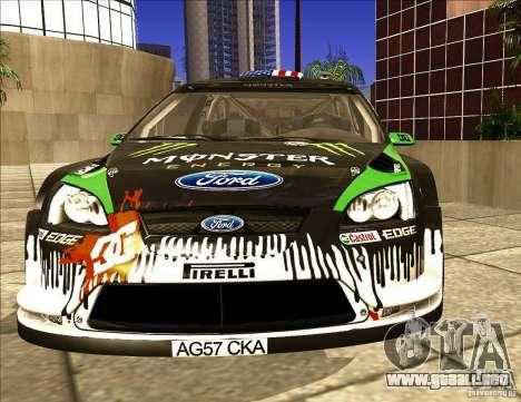 Ford Focus RS 2000 para GTA San Andreas left