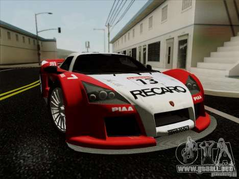 Gumpert Apollo 2005 para GTA San Andreas left