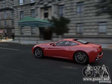 Ferrari California 2009 para GTA 4 vista interior