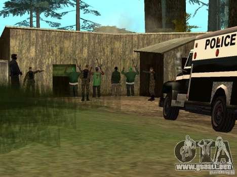 Drug Assurance para GTA San Andreas tercera pantalla