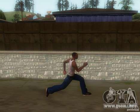 GTA IV Animations v1.1 para GTA San Andreas