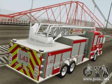 Pierce Arrow LAFD Ladder 43 para las ruedas de GTA San Andreas
