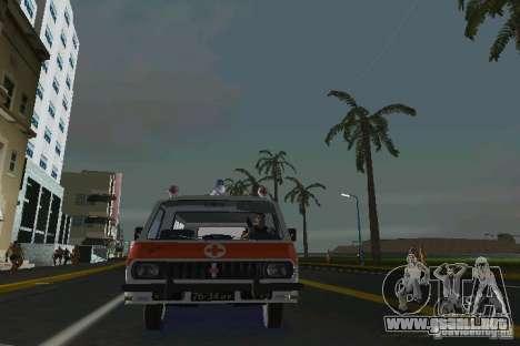 RAF-22031 ambulancia para GTA Vice City vista lateral izquierdo
