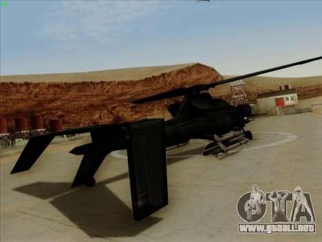 RQ-50 Hammerhead para GTA San Andreas left