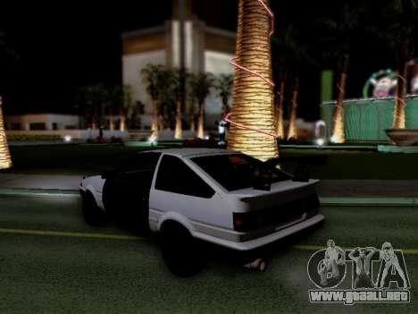 Toyota Sprinter Trueno AE86 GT-Apex Kouki para la visión correcta GTA San Andreas
