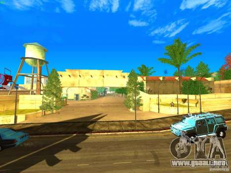 New Studio in LS para GTA San Andreas quinta pantalla