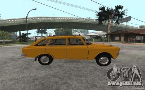 Gorynych IZH 2125 para la visión correcta GTA San Andreas