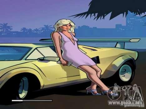 Pantalla de arranque de Vice City para GTA San Andreas sucesivamente de pantalla