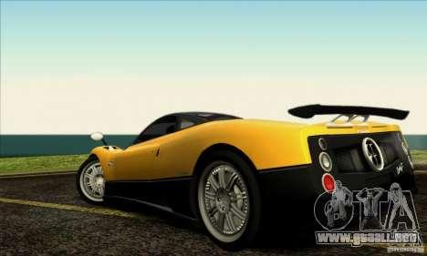 SA_gline v2.0 para GTA San Andreas quinta pantalla
