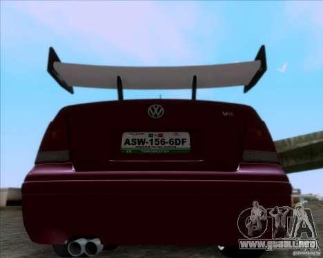 Volkswagen Jetta 2005 para la visión correcta GTA San Andreas