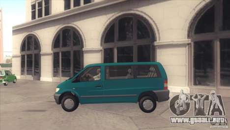 Mercedes-Benz Vito 112 para GTA San Andreas left