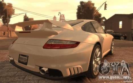 Porsche 911 GT2 2008 para GTA 4 left