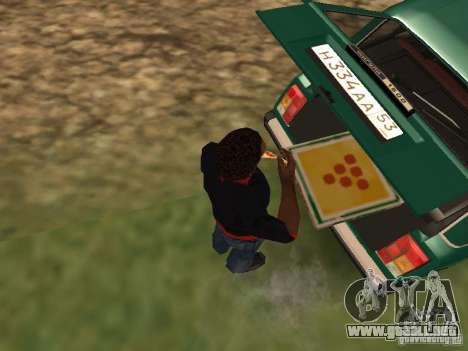 CJ hambre v. 3 final para GTA San Andreas sucesivamente de pantalla