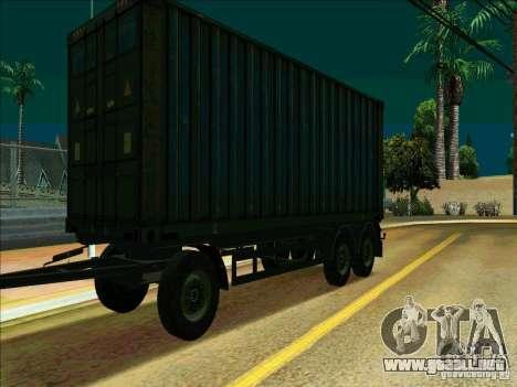 Trailer de Iveco Stralis para GTA San Andreas