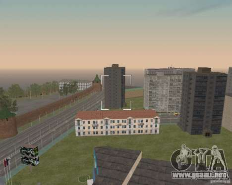 Nižegorodsk v0.5 BETA para GTA San Andreas