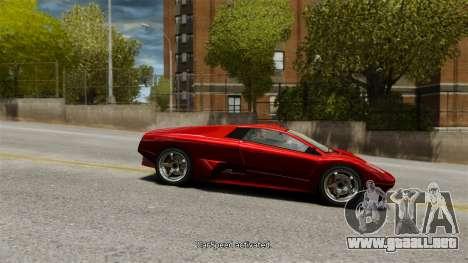 Velocidad del vehículo para GTA 4