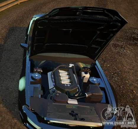 Ford Mustang GT Convertible 2013 para GTA 4 Vista posterior izquierda