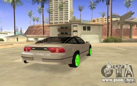 Nissan 200SX Monster Energy para la visión correcta GTA San Andreas