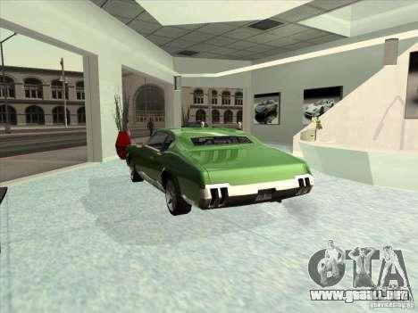 ENBSeries by Chris12345 para GTA San Andreas sucesivamente de pantalla