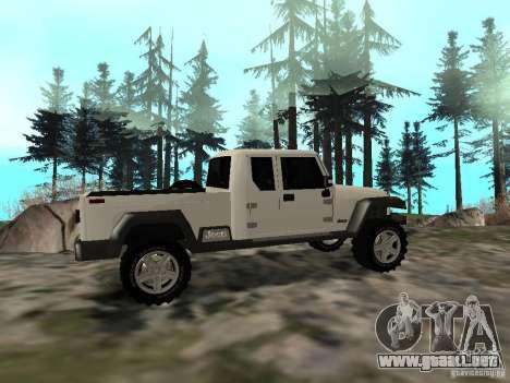 Jeep Gladiator para la visión correcta GTA San Andreas