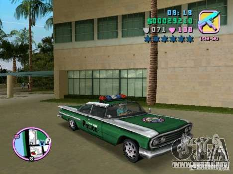 Voodoo Police para GTA Vice City left