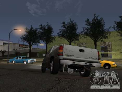 Chevorlet Silverado 2000 para vista lateral GTA San Andreas