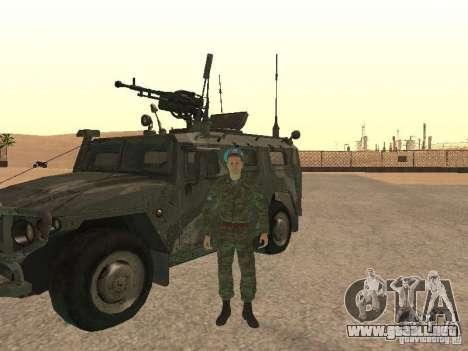Spetsnaz VDV para GTA San Andreas segunda pantalla