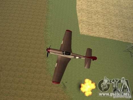 Air Strike para GTA San Andreas tercera pantalla