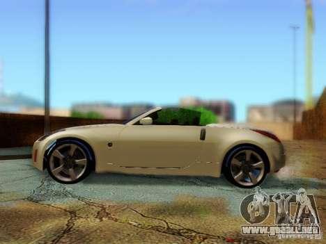 Nissan 350Z Cabrio para la visión correcta GTA San Andreas