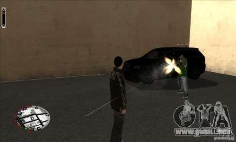 GodPlayer v1.0 for SAMP para GTA San Andreas tercera pantalla